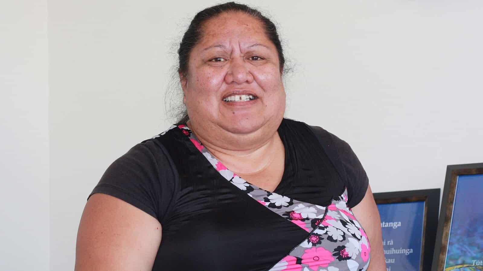 Maureen Mua champions the Maraenui Suburban Revitilisation Project