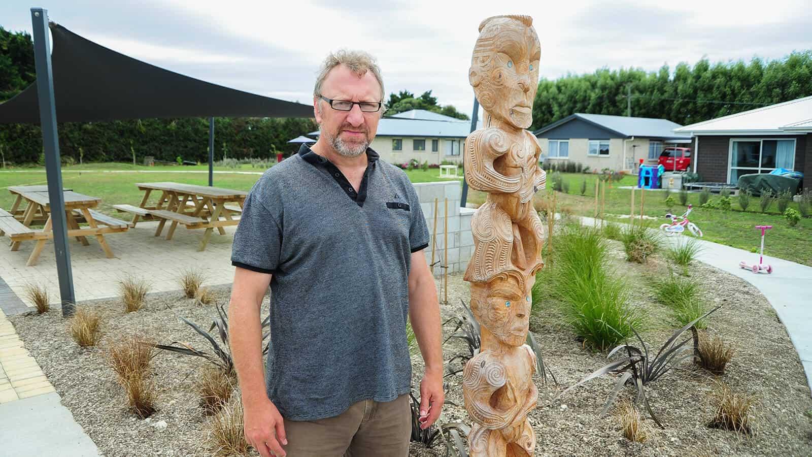 Paul Sheeran, on the Aorangi Maori Trust Board, helps whanau with Papakainga land (jointly-owned) realise their housing aspirations