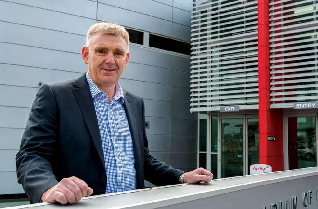 Wayne Jack, NCC chief executive