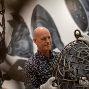 Hastings City Art Gallery Director, Clayton Gibson. Photo: Tom Allan