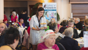 Age Concern seniors afternoon tea. Photo supplied.